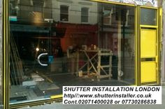 #ShopFrontShutterWestLondon SHUTTER INSTALLER LONDON http//:www.shutterinstaller.co.uk Cont.02071400028  or 07730286838