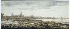 Gezicht op Dordrecht, Aelbert Cuyp, 1630 - 1691
