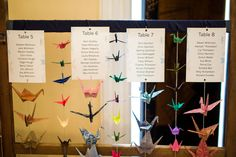 Origami table plan - Photo by http://www.mattlollarphotography.com/