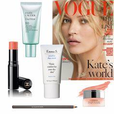 """Alltid lika snygga Kate Moss i en perfekt version av """"the no-makeup makeup"""". Börja med att lägga din makeup på väl rengjort ..."""