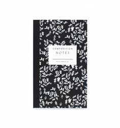 Rifle Paper Composition notepad