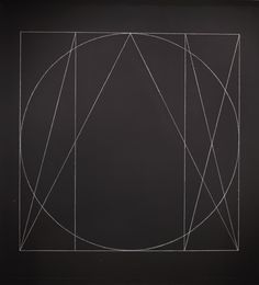 Wall Drawing #295: Six Superimposed Geometric Figures | LACMA Collections