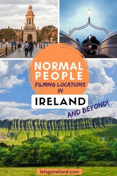 Normal People Ireland Filming Locations - Let's Go Ireland Europe Destinations, Europe Travel Guide, Amazing Destinations, Travel Guides, Travelling Europe, Ireland Vacation, Ireland Travel, Dublin Ireland, Cork Ireland