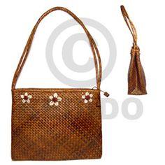 Pandan Selected Double Zip 12x4x9 Native Bags