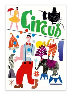 Circus poster by Stephanie Wunderlich