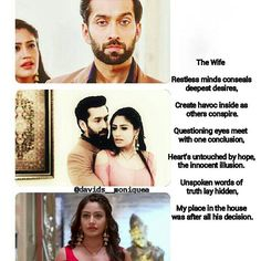 The evolution of Annika #TheWife @nakuulmehta @officialsurbhic  #ShivikaMadeMeDoIt #TheIshqbaaazEffect