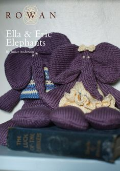 Ella and Eric Elephants in Rowan Cotton Glace. Discover more Patterns by Rowan at LoveKnitting. The world's largest range of knitting…