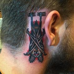 Discover retro winged ink with the top 50 best traditional bat tattoo designs for men. Explore cool old school body art ideas. Time Tattoos, Sleeve Tattoos, Tattoos For Guys, Cool Tattoos, Bat Tattoos, Traditional Tattoo Bat, Traditional Tattoo Sketches, Sparrow Tattoo, Worlds Best Tattoos
