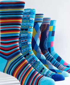 Pick your pair from our large selection of fashion forward socks! #bugatchi #socks #fashionforward