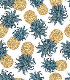 #newonpatternbank #pineapple patternbank.com/elmiraamirova → #textiles…