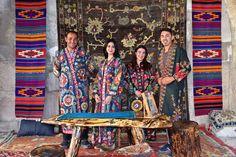 Aksaray'ın Sultanhanı beldesinde birincisi düzenlenen Sultanhanı İpek Yolu Halı, Kültür ve Turizm Festivali başladı.