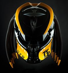 Bmw Motorcycle Accessories 43 Ideas For 2019 Cool Bike Helmets, Custom Motorcycle Helmets, Custom Helmets, Bobber Motorcycle, Bicycle Accessories, Motorcycle Accessories, Predator Helmet, Airsoft Mask, Helmet Design