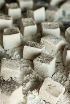 Vanilla Bean Marshmallows. I'm good with the jumbo ones out of the bag, but these would be cute to make for a special occasion!