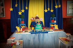 The little prince baby shower | CatchMyParty.com