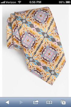 Zenga tie from Nordstroms