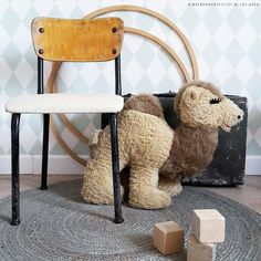 Stylen met houten hoepel