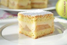 ciasto z jabłkami i budyniem Food Cakes, Holiday Parties, Apple Pie, Cake Recipes, Cheesecake, Food And Drink, Cookies, Baking, Cottage