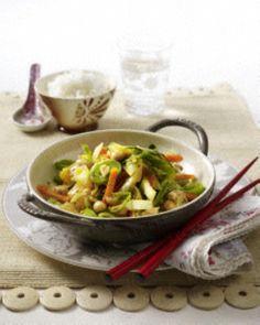 Das Rezept für Vegetarisches Weißkohl-Wok-Gemüse und weitere kostenlose Rezepte auf LECKER.de
