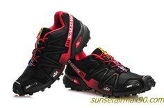 Salomon Speedcross 3 Mens Review Black Siren Red Salomon Speedcross 3, Black Siren, Salomon Shoes, Black Running Shoes, Cheap Shoes, Shoes Outlet, Shoe Sale, Hiking Boots, Men's Shoes