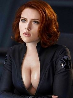 Scarlett Johansson best cleavage #scarlettjohansson #cleavage #breasts #sexy