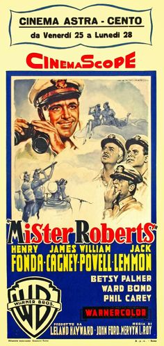 The Last Command 1955 movie posters | MISTER ROBERTS (1955)