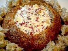recipe: dried beef dip in bread bowl [15]