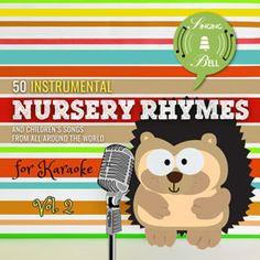 Cover of album 50 Instrumental Nursery Rhymes for karaoke Vol.2 Abc Songs, Alphabet Songs, Kids Songs, Little Boy Blue, This Little Piggy, Happy Birthday Song Download, New Nursery Rhymes, Five Little Monkeys, Song Sheet
