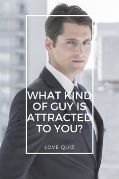 Ever feel like the same guys always seem to gravitate towards you? Well, we can't tell you why that it, but we can tell you what kind of guys you attract. Take this quiz to find out.
