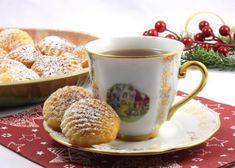 Magdalénky, Drobné pečivo, recept   Naničmama.sk Christmas Cookies, Healthy Recipes, Healthy Foods, Sweets, Baking, Tableware, Scrappy Quilts, Xmas Cookies, Health Foods