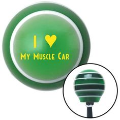 Cool Cars accessories 2017: Yellow I 3 MY MUSCLE CAR Green Stripe Shift Knob with M16 x 15 Insert - Give you...  Automotive Parts & Accessories Check more at http://autoboard.pro/2017/2017/08/16/cars-accessories-2017-yellow-i-3-my-muscle-car-green-stripe-shift-knob-with-m16-x-15-insert-give-you-automotive-parts-accessories/
