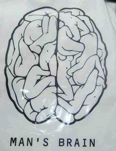 Funny pictures about A man's brain. Oh, and cool pics about A man's brain. Also, A man's brain photos.