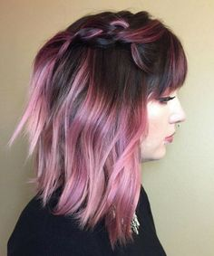Beautiful Inspirational Deep Pink Hair Color Ideas Worth Checking Out