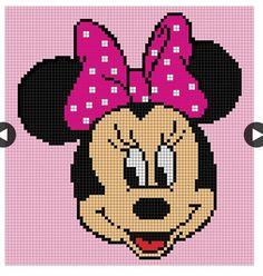 Minnie Mouse Graph Graph Crochet, Crochet Cross, Crochet Blanket, Tapestry C… – The Best Ideas Crochet Pixel, Graph Crochet, Crochet Cross, Crochet Baby, C2c Crochet Blanket, Tapestry Crochet, Crochet Blanket Patterns, Crochet Blankets, Baby Knitting Patterns