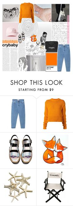 """""""hacked by @thundxrstorms ♡"""" by frostedfingertips ❤ liked on Polyvore featuring Chanel, WithChic, Acne Studios and hacked"""