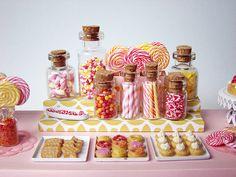 Miniature Candy Dessert Table
