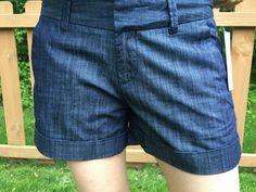 Stylist - Like these Dear John Finnegan Roll Cuff shorts in blue.
