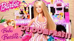 Búp bê Barbie ♥ Vui chơi cùng búp bê Barbie và công chúa Elsa và Ana ♔Ba...