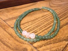Necklace Jade and Quartz beads, 39€. B4U by b12design. Order in Germany and Spain: b12design@yahoo.com