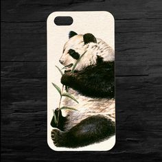 Panda Bear Animal iPhone 4 and 5 Cover by theminifab on Etsy, $11.00
