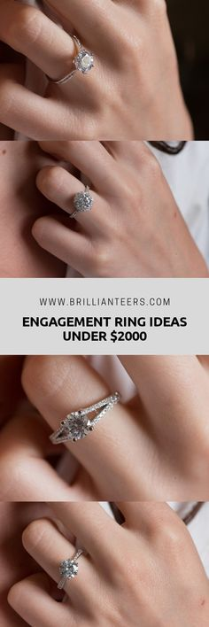 Looking for the perfect engagement ring for under $2000? We have a great collection of ring designs you'll definitely want to see! Engagement Rings Under 1000, Dream Engagement Rings, Perfect Engagement Ring, Designer Engagement Rings, Diamond Wedding Bands, Wedding Rings, Best Diamond Rings, One Carat Diamond, Bridal Boutique