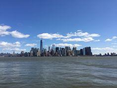 skyline depuis Ellis Island