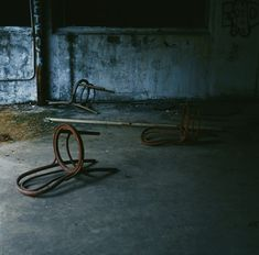 Abandoned food factory.