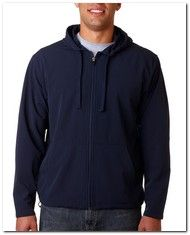 As Low As $31.04 > Ultraclub 8270 Soft Shell Hood Jacket - Available Colors:2, Size Range:S - 4XL