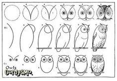 #desenho, #owl