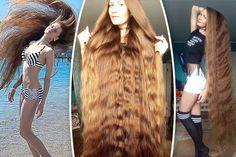 Daria Gubanova, la modella che ha conquistato Instagram grazie ai suoi capelli