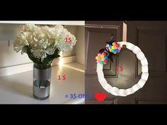 ديكورات الربيع 3$ بس Spring decoration pudget friendly