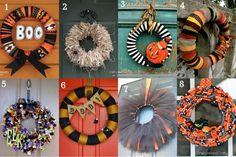 31 Fabulous Halloween Wreaths!