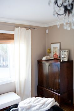Antique Dresser and vignette