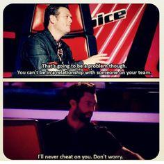 the reason I love The Voice so much - Blake & Adam!