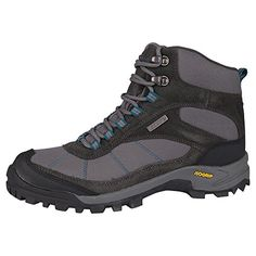 Mountain Warehouse Hurricane Womens Waterproof Hiking Boots Grey 8 M US Women *** Visit the image link more details.